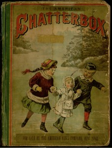 Front cover, The American chatterbox