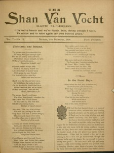 [221] p., The Shan Van Vocht, v. I, no. 11, November 6, 1896