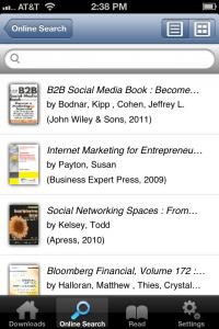 ebrary app