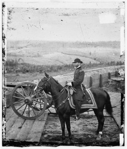 Sherman on Horseback