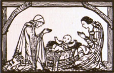 From Christmas Wayfarers. Dublin: at the Signot the Three Candles, (19--?).