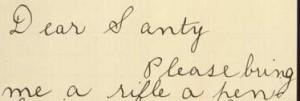 Dear Santy