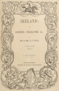 Title page of Halls' Ireland (186-?).