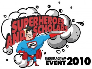 2nd Annual Graphic Novel Event logo