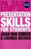 Presentation Skills for Students cover