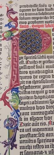 Easter Biblia Latina Gutenberg