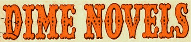 dime novels banner