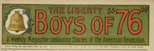 Liberty Boys Masthead