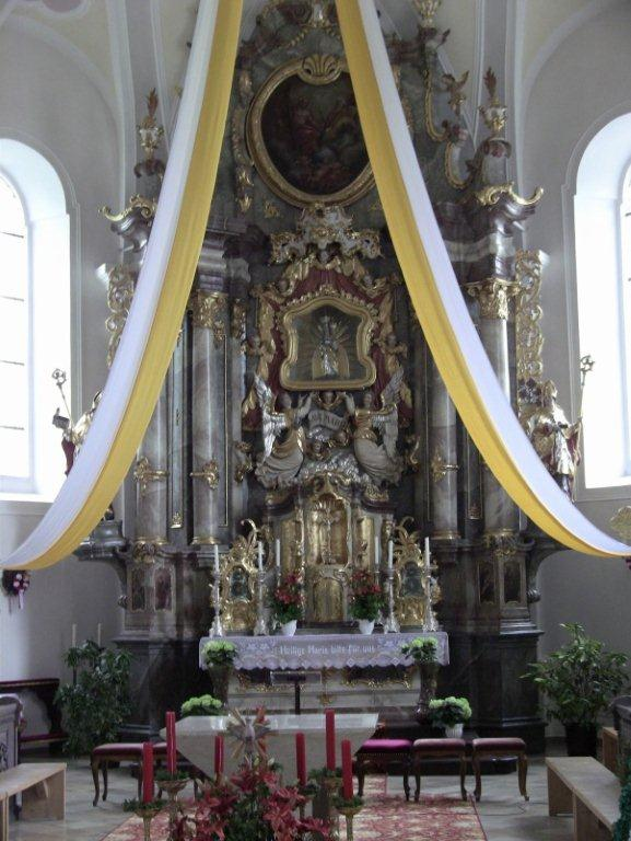 Jackie Smith, Budget and Administrative Services specialist, traveled to Bavaria for her nephew's wedding. Pictured here is the church, Maria Himmelfahrt in Bad Kotzting.