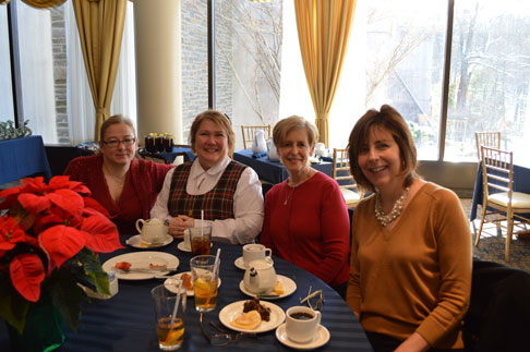 Margaret Duffy, Phylis Wright, Jackie Smith, Jeannine Ahern