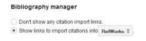 bibliography manager