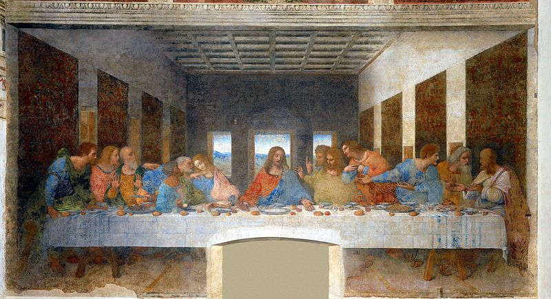 Last Supper Da Vinci
