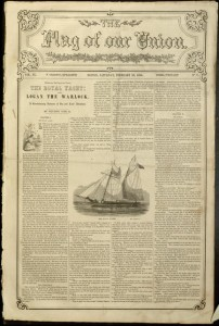 The flag of our Union, v. IX, no. 7, Saturday, February 18, 1854.