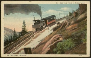 Color Postcard, To: Elizabeth Sarah Kite, October 4, 1931.