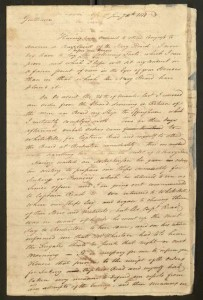 Letter To Congress from Captain Barry, January 10, 1778.