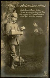 Postcard, To: Frieda, December 9, 1917.