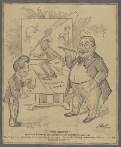 Editorial cartoon featuring Theodore Roosevelt  from Library of Congress http://www.loc.gov/pictures/item/2013651586/