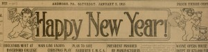 Ardmore Chronicle - Volume XXVI, No. 13, Saturday January 2, 1915.