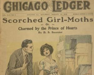 Front cover,  Chicago Ledger, v. XLIV, no. 4, January 22, 1916.