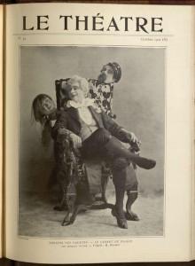 Le Théatre, Octobre-II, 1900, no. 44.