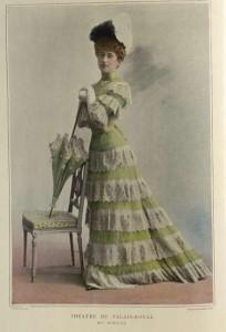 Théatre du Palais-Royal, Le Théatre, Octobre-II, 1900, no. 44.