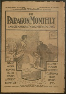 The Paragon monthly, January 1908.