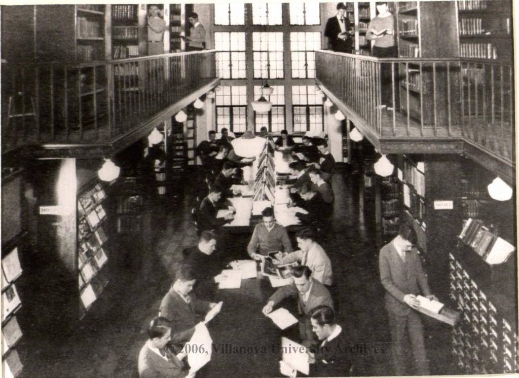 Austin Hall library