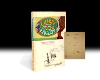 A first edition of signed Charlie and the Chocolate Factory is currently available from the Antiquarian Booksellers Association of America for $25,000.