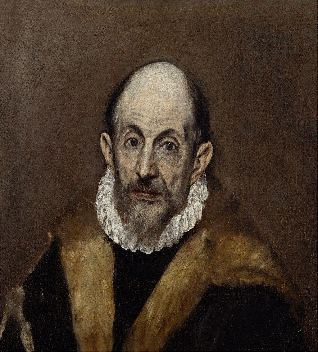Portrait of a Man 1595-1600 Oil on canvas, 53 x 47 cm Metropolitan Museum of Art, New York