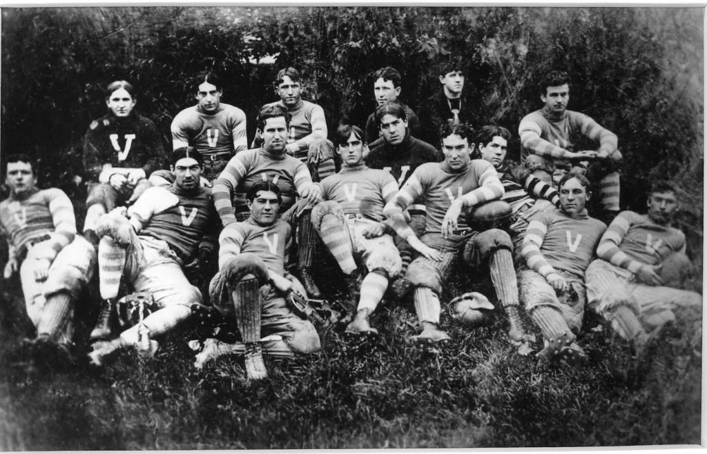 VU football 1896