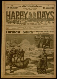 Happy days : a paper for young and old, v. XLV, no. 1159, December 30, 1916.