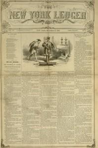 The New York Ledger, v. XIV, no. 32, October 16, 1858.
