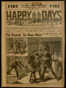 Happy days : a paper for young and old, v. XLV, no. 1160, January 6, 1917.