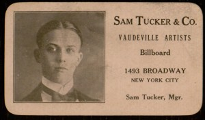 Sam Tucker & Co. trade card