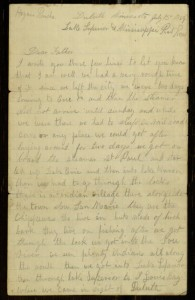 "Letter, To: ""Dear Father"" From: William C. White, July 13, 1869."