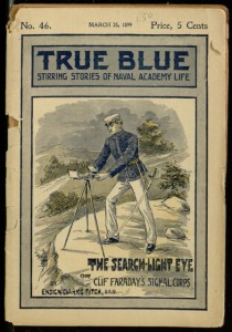 Front cover, The search-light eye; or, Clif Faraday's signal corps / by Ensign Clarke Fitch, U.S.N.