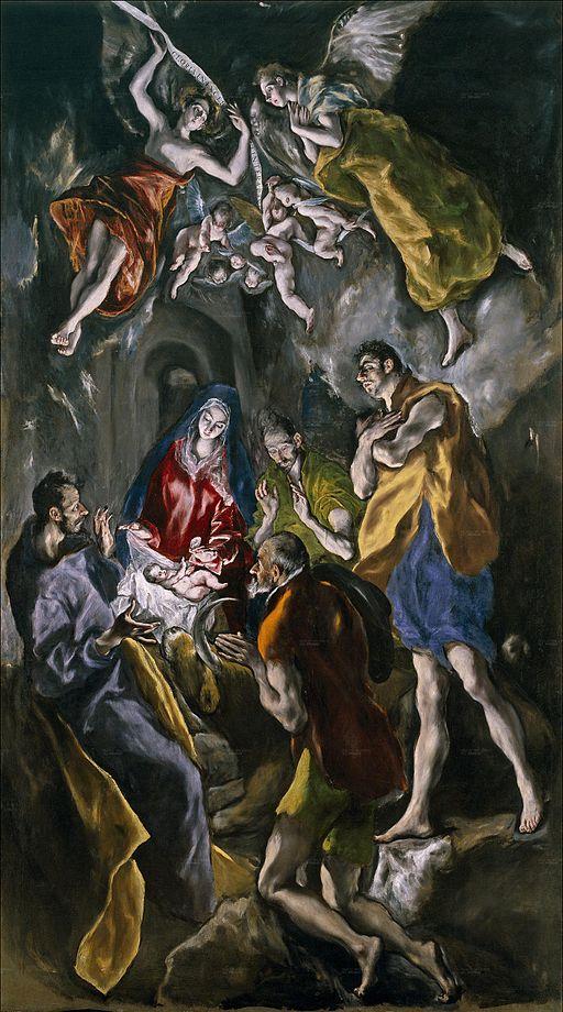 512px-La_adoración_de_los_pastores_(El_Greco)