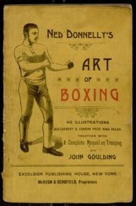 Front cover, The manly art of self-defence / by Ned Donnelly