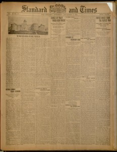 Front cover, The Catholic Standard and Times, Saturday, November 7, 1914