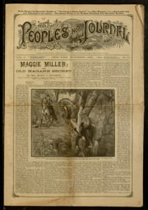 Front cover, The People's Home Journal, v. V, no. 11, November 1890
