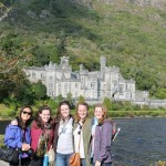 Student Erin Johnson and Friends Study Abroad