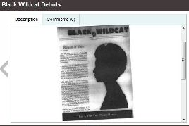 caturday black wildcat debuts