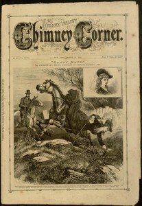 Front cover, Frank Leslie's Chimney Corner, v. XXVI, no. 669, March 23, 1878
