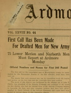 Cover story, Ardmore Chronicle - Volume XXVIII, No. 44, Saturday, August 4, 1917