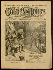 Front cover, Golden Hours : A Weekly Journal of Good Literature for Young Folks, v. XXXII, no. 821, Saturday, October 24, 1903