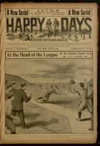 Front cover, Happy days : a paper for young and old, v. XXX, no. 764, June 5, 1909