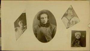 Page 5, recto, Lina and Milda Dshkalis photograph album
