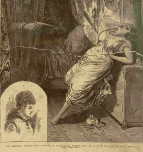 Front cover, selection, The illustrated police news, law courts and weekly record, v. 21, no. 522, October 28, 1876