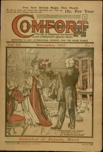 Front cover, Comfort, v. XX, no. 1, November 1907
