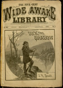 Front cover, Dick the shadow. Wide Awake Library.